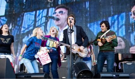 Маккартни в Аргентине исполнил 'русскую песню'