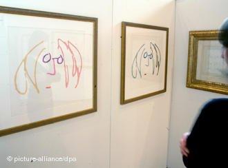 В немецком городе Гронау открылась экспозиция комиксов, карикатур и литографий Джона Леннона