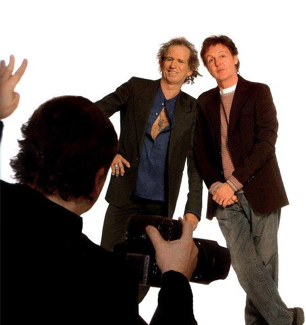 Пол Маккартни и Кит Ричардс написали совместную песню