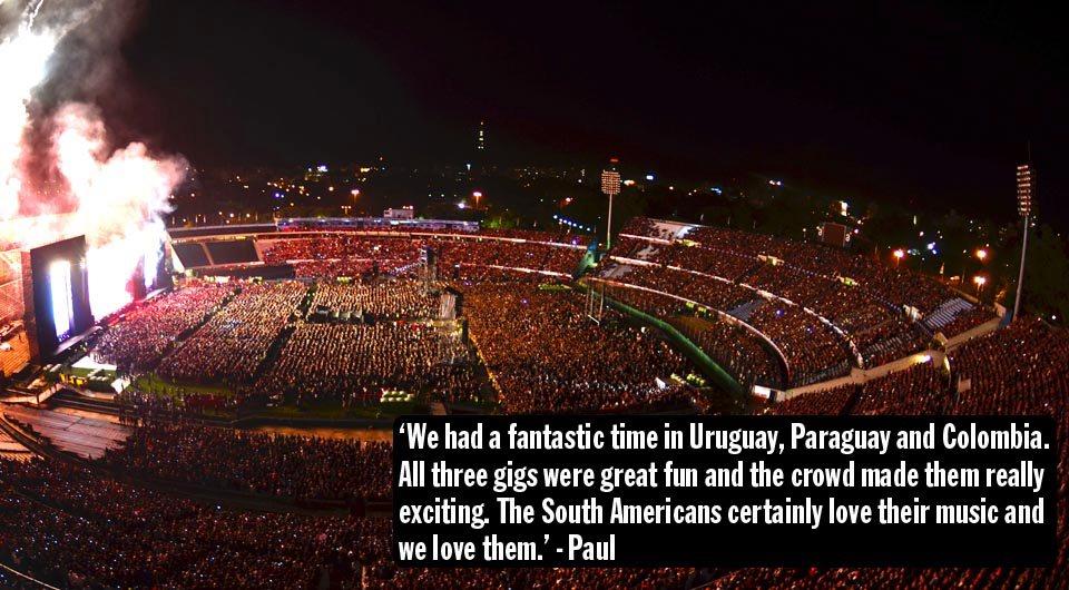 Пол Маккартни закончил своё очередное южноамериканское турне