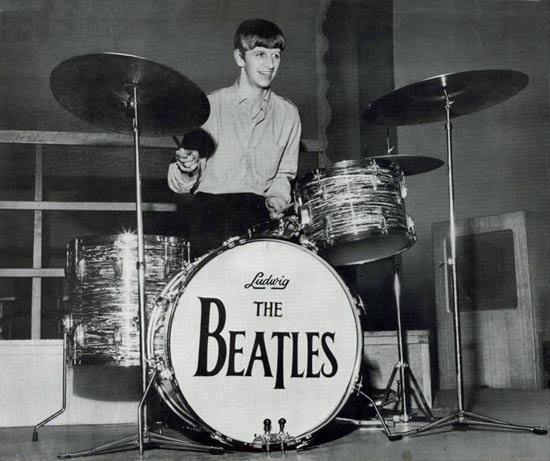 50 лет назад Ринго Старр впервые сыграл с Битлз