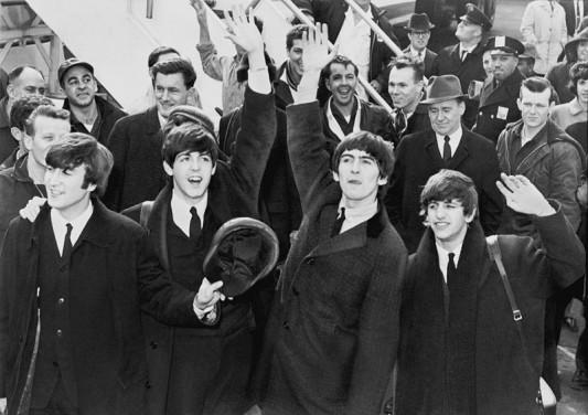 The Beatles вторглись в Америку 47 лет назад (7 февраля 1964)