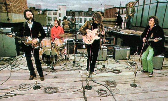 30.01.1969 г. Beatles дали знаменитый «концерт на крыше»