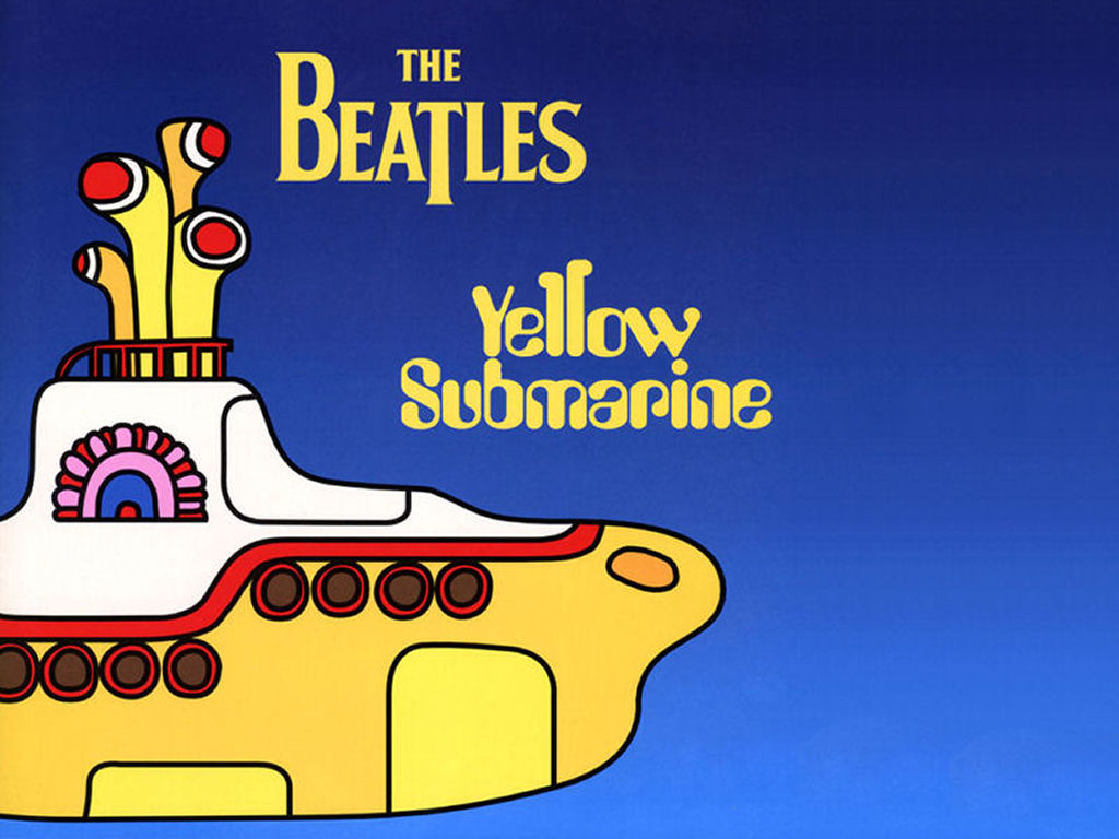 Жёлтая подводная лодка в Квартире