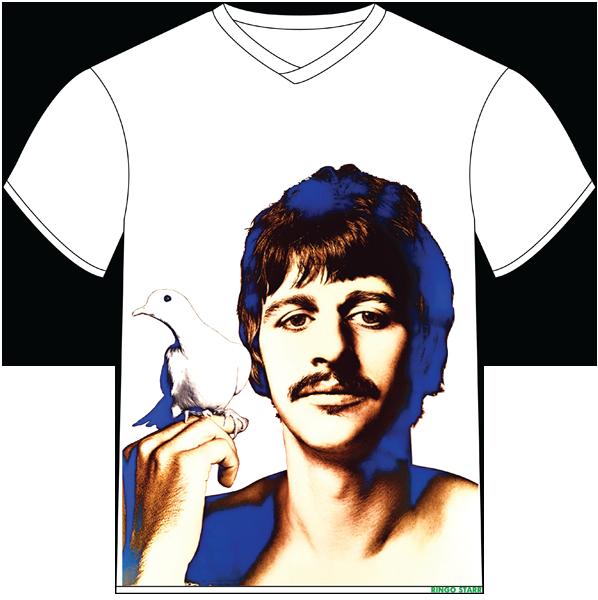 Футболка «Ringo Starr. Ричард Аведон» 01
