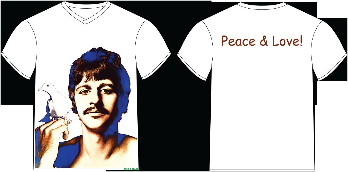 Футболка «Ringo Starr. Ричард Аведон» 02