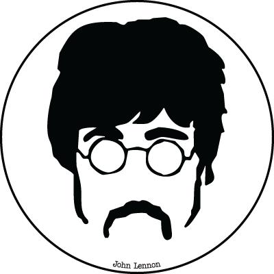 Значок «John Lennon»